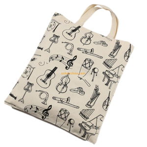Made in China strong quality custom design durable cotton canvas fabric tote drawstring bags bulk for sale