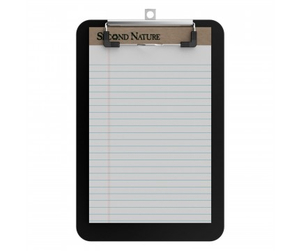 Top quality multi-function custom different size waterproof PVC writing board black plastic clipboard for office