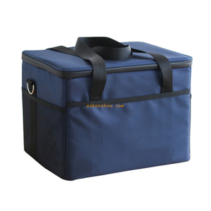 Custom heavy duty picnic food drink lunch duffle insulated bag built in lunch cooler bag for food storage