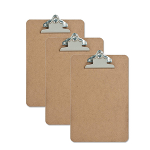 Top grade wholesale custom Letter Size Mini Clipboard - Hardboard - 6 x 9