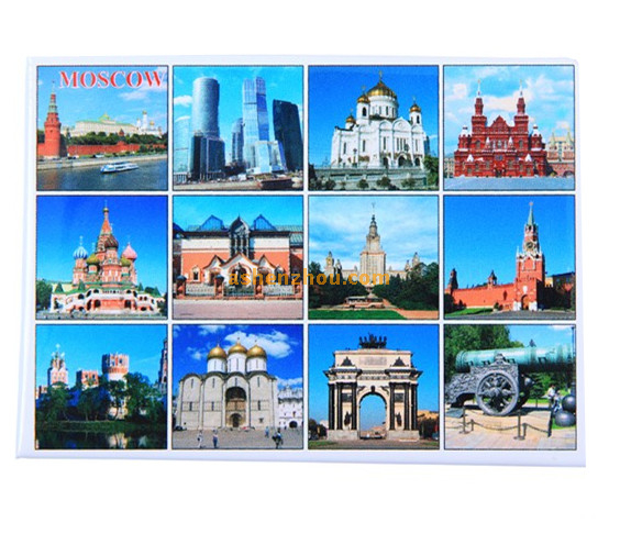 Wholesale cheap price custom made 304 stainless magnetic art fridge magnets