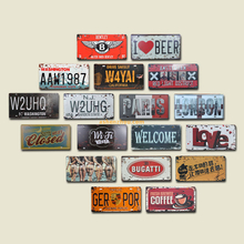 Personalized custom Old Metal Vintage Sign With Your Logo for sale!