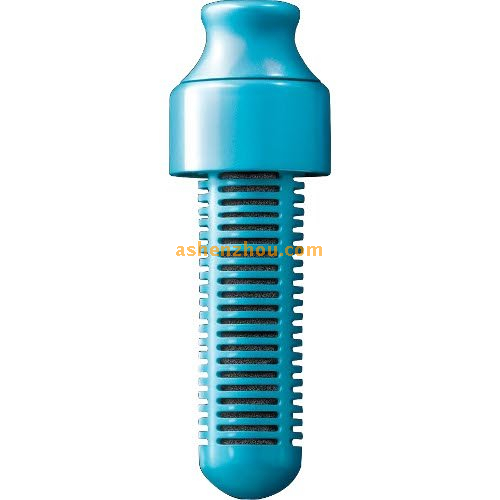 BPA Free active carbon colorful 550ml filter water bottle with carry cap, sports drinking bottle, bobble water bottle