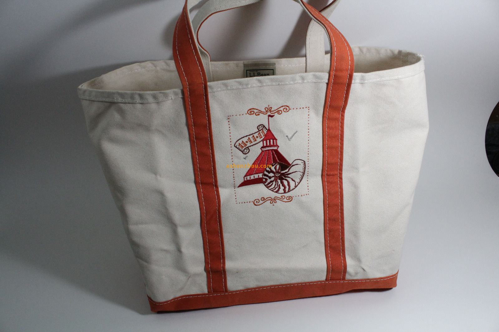 Best quality professional discount custom personalized large cotton canvas sack natural red shopping bags with zipper tote