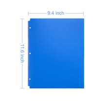 New design best price custom A4 size L shape document file holder plastic pp cover clear folder for company