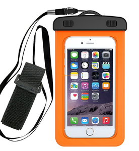 Universal waterproof case for smartphones universal snowproof dirtproof waterproof cell phone bag, for phone below 6 inch