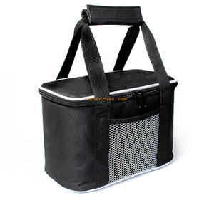 New arrival high quality non woven material outdoor travel soft lunch insulated can fitness frozen food lunch cooler bag
