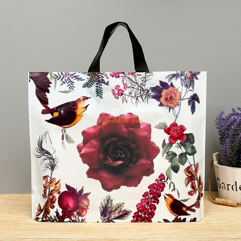 Top quality cheap price custom logo printing eco shopping handle tote reusable paper bag
