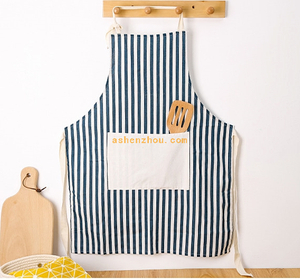 Hot sale promotional custom colorful kitchen accessories waterpeoof cooking cotton apron with logo printing